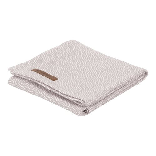 Maxi-lange swaddle 120 x 120 Mauve Waves
