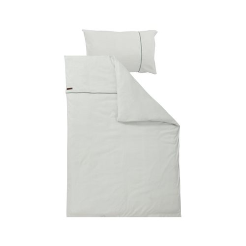 Picture of Cot blanket cover Mint Waves
