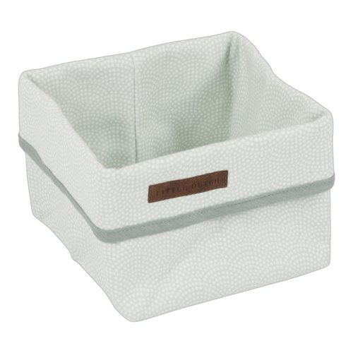 Picture of Storage basket, small Mint Waves