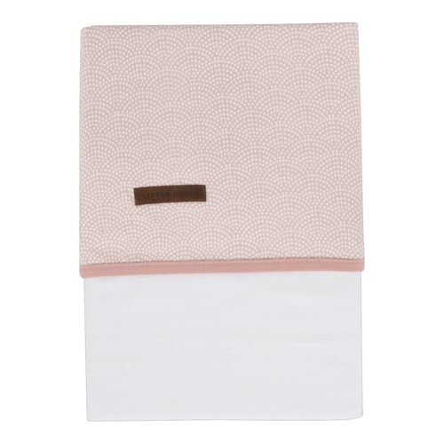 Picture of Cot sheet Pink Waves