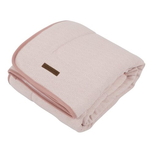 Picture of Bassinet blanket Pink Waves