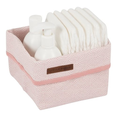 Picture of Storage basket, small Pink Waves