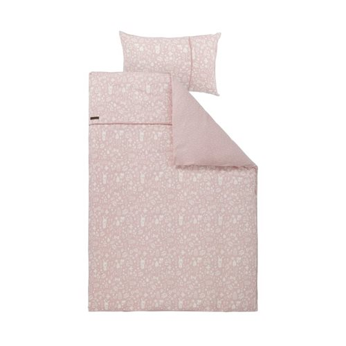 Picture of Single duvet cover Adventure Pink