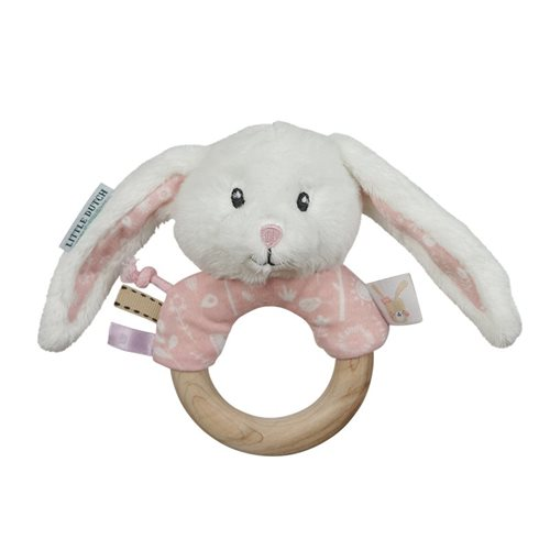 Picture of Ring rattle rabbit Adventure pink