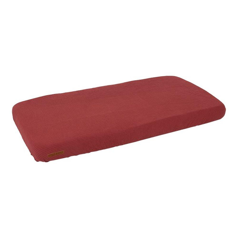 Einzel Spannbetttuch Pure Indian Red