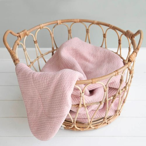 Picture of Cot blanket Pure Pink