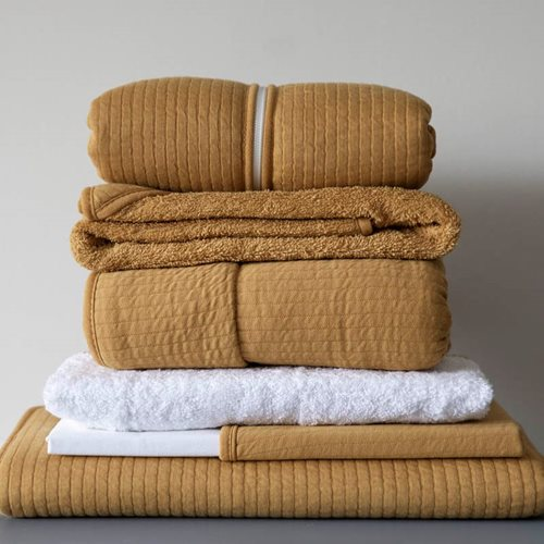 Picture of Cot blanket Pure Ochre