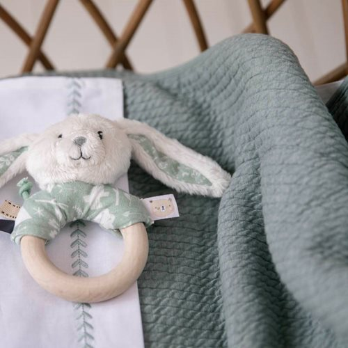Picture of Bassinet summer blanket Pure Mint