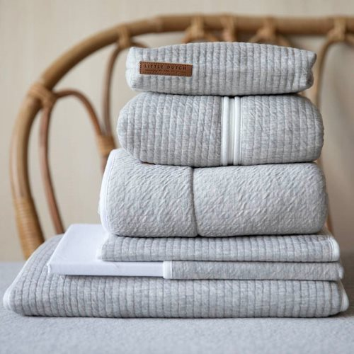 Picture of Bassinet summer blanket Pure Grey