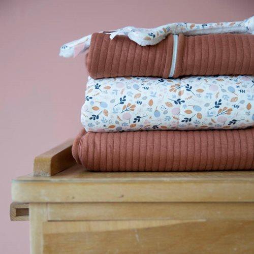 Couverture d'été pour lit bébé Pure Rust