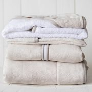 Picture of Cot blanket Beige Waves