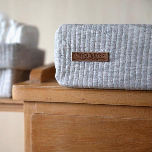 Afbeelding van Aankleedkussenhoes Pure Grey