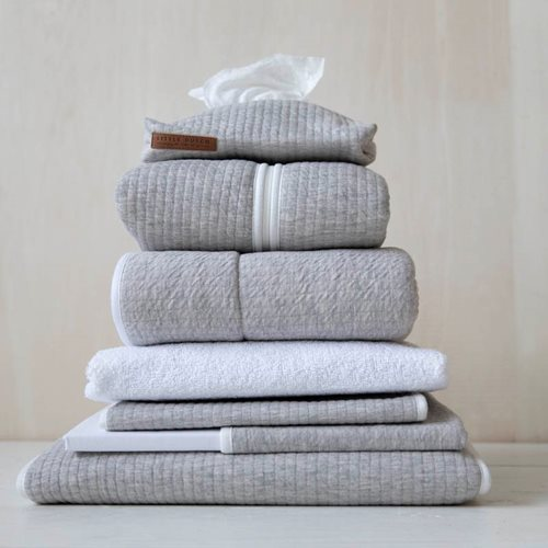 Picture of Cot sheet Pure Grey