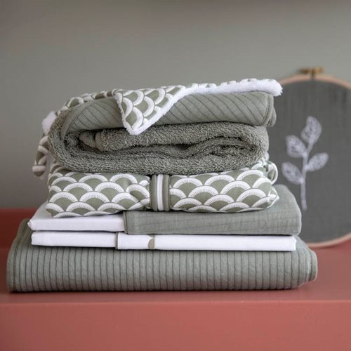 Picture of Cot sheet Pure Olive