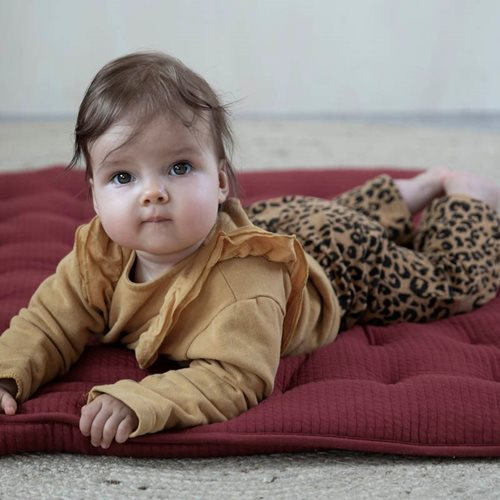 Picture of Playpen mat 80 x 100 Pure Indian Red