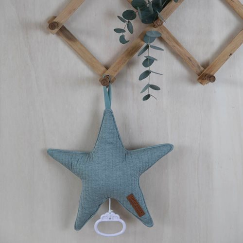 Picture of Star-shaped music box Pure Mint