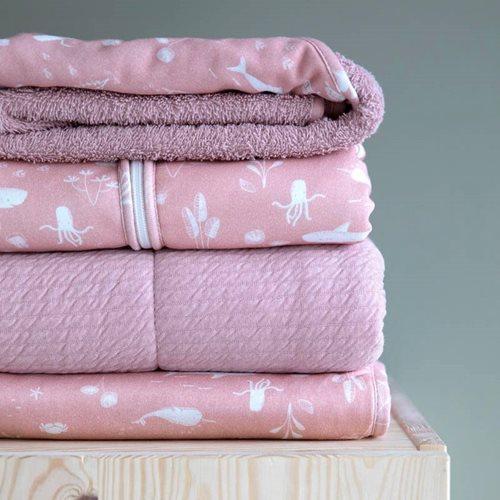 Schlafsack Sommer 90 cm Ocean Pink