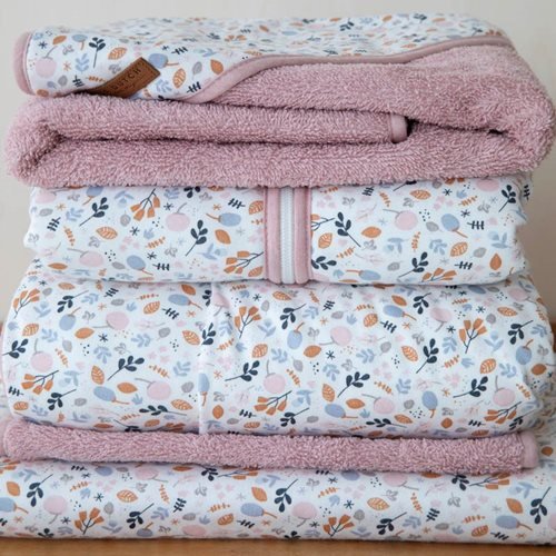 Picture of Cotton summer sleeping bag 90 cm Spring Flowers