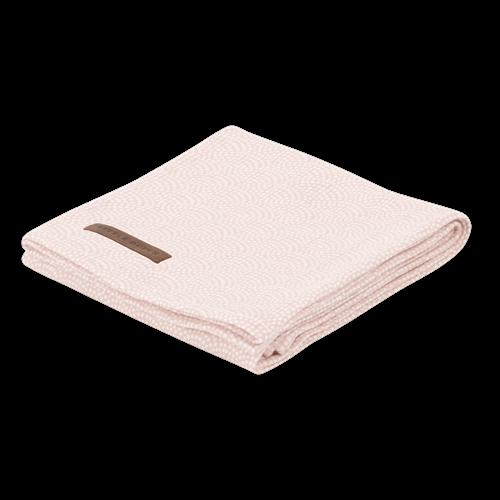 Swaddle doek 120 x 120 - pink waves