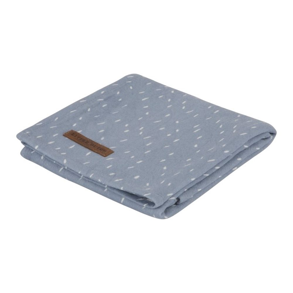 Musselintuch Swaddle 120 x 120 Blue Sprinkles
