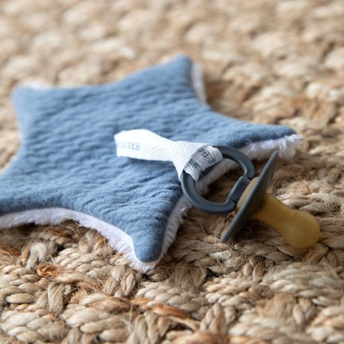 Picture of Pacifier cloth Pure Blue