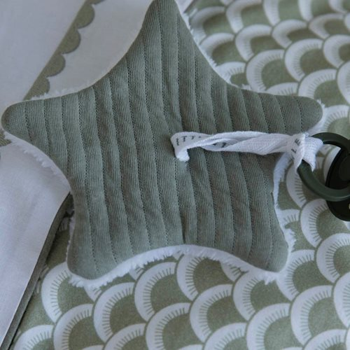 Picture of Pacifier cloth Pure Olive