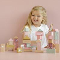 Afbeelding van Bouwblokken pink