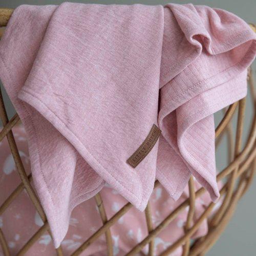 Lange bébé lot de 2 70 x 70 Ocean Pink/Pure Pink