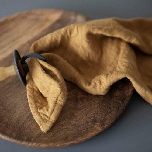 Picture of Muslin cloths 70 x 70 Sunrise Ochre/Pure Rust