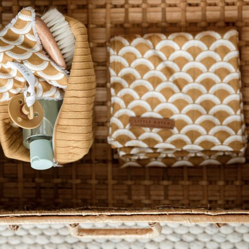 Picture of Swaddle 120 x 120 Sunrise Ochre