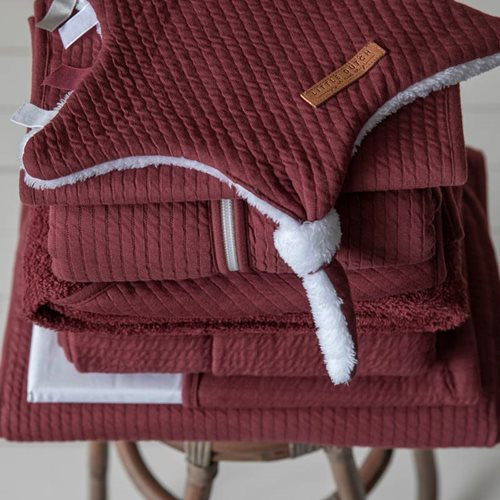 Picture of Cuddle cloth, star Pure Indian Red