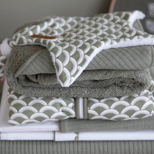 Picture of Cuddle cloth, star Sunrise Olive
