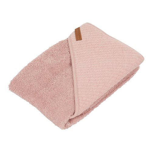 Kapuzenhandtuch Pure Pink