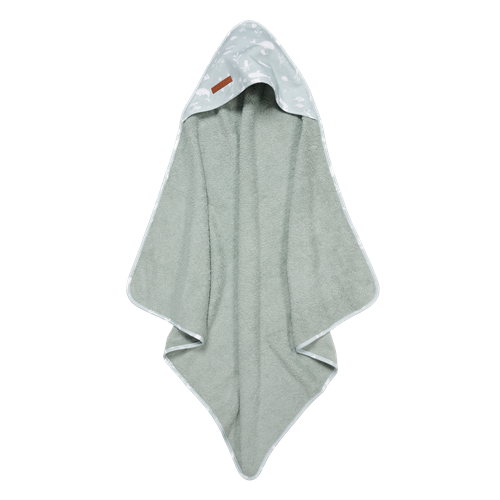 Picture of Hooded towel Ocean Mint