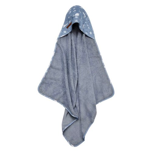 Picture of Hooded towel Ocean Blue