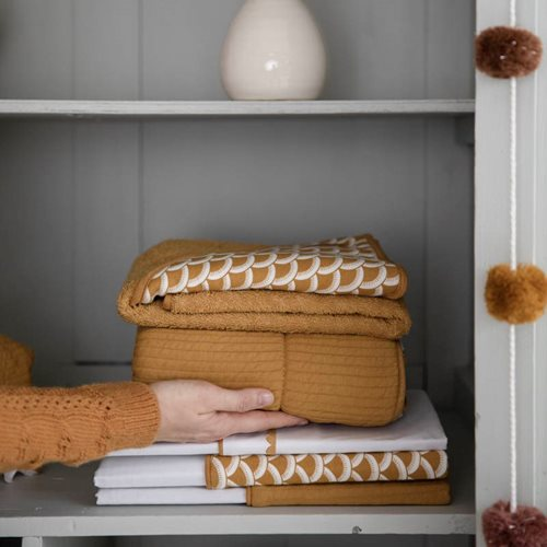 Picture of Hooded towel Sunrise Ochre