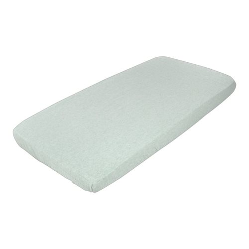 Picture of Single fitted sheet Mint Melange
