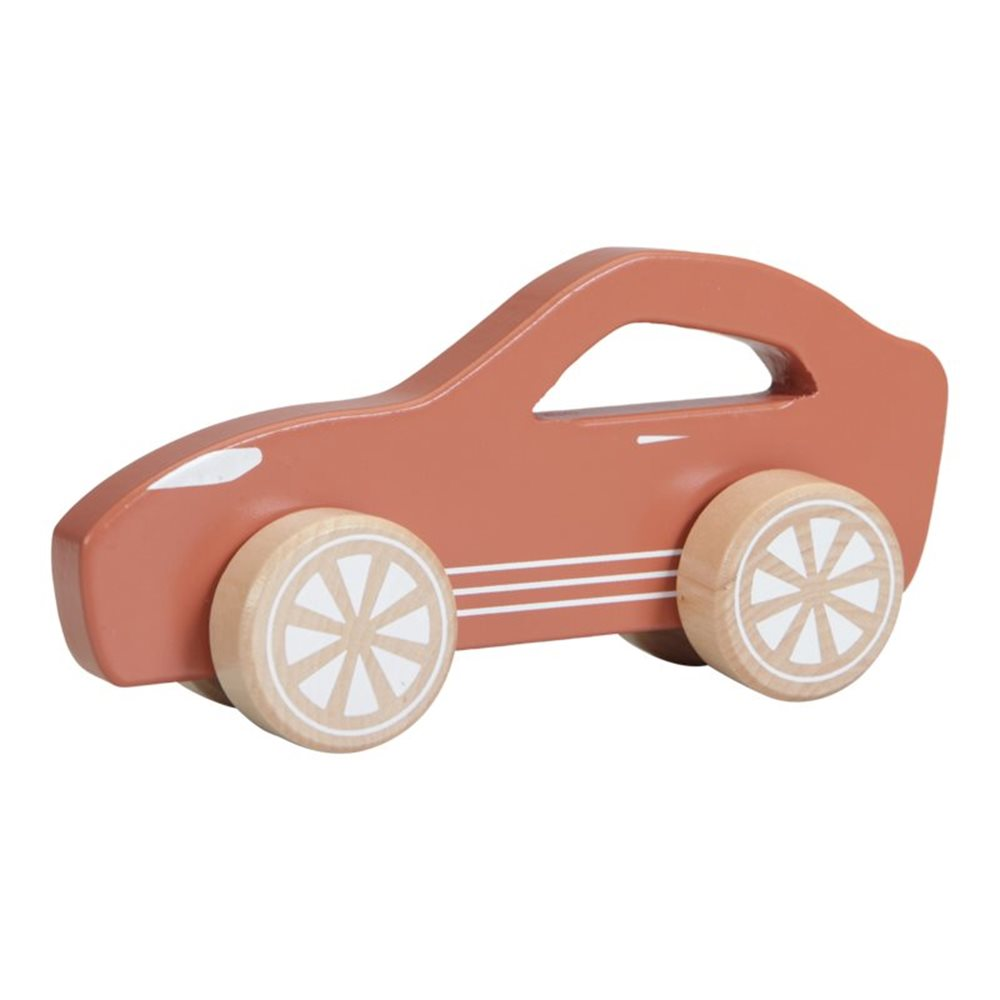 Picture of Wooden toy sports car rust