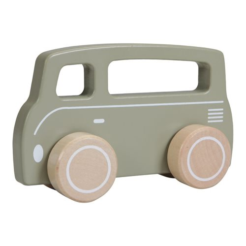 Holz Bus Oliv