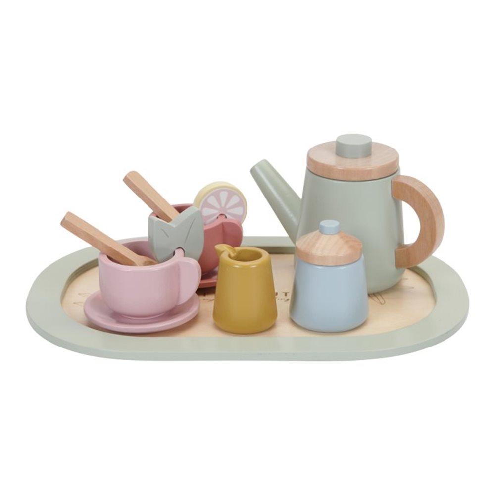 Teeservice Holz