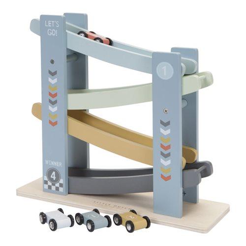 Holzrollbahn Auto