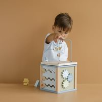 Picture of Wooden Activity Cube Ocean