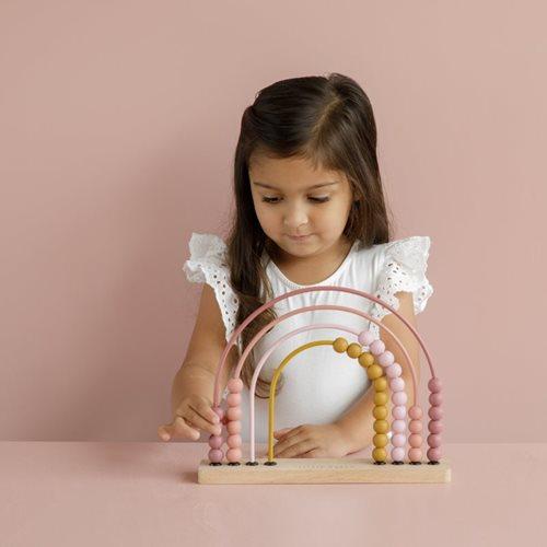 Regenbogen-Abacus pink