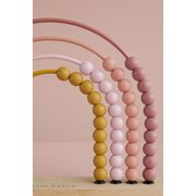 Afbeelding van Regenboog telraam pink