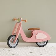 Scooter hout Pink