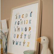 Afbeelding van Poster A3 - Little Goose ABC - blue