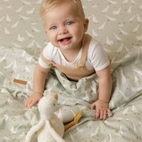 Picture of Fitted cot sheet Little Goose