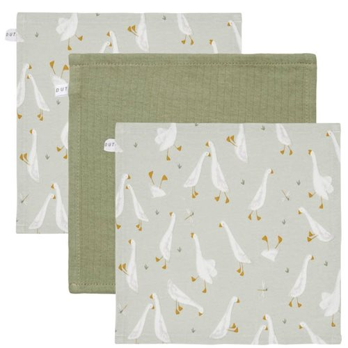 Picture of Facecloths Little Goose / Pure Olive