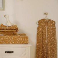 Picture of Summer sleeping bag 90 cm Wild Flowers Ochre