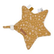 Picture of Cuddle cloth, star Wild Flowers Ochre